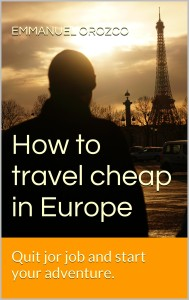 How To Travel Cheap in Europe - cover